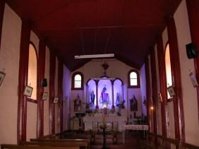 Interior Iglesia en Punta de Choros