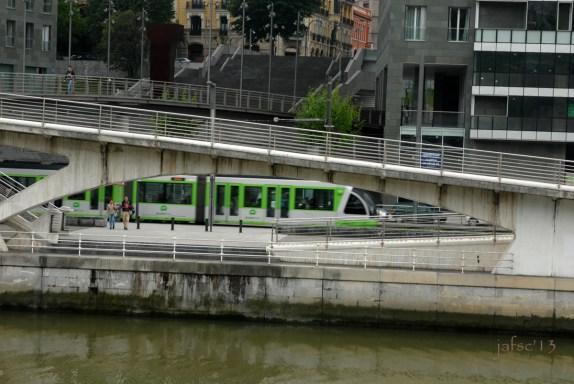 Train-Metro in Bilbao