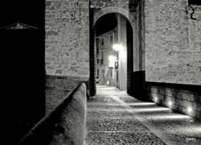 Entering Besalú by the bridge