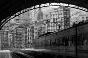 Gare in Bilbao