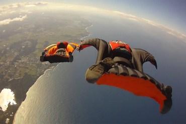 ακραίο σπορ wingsuit flying