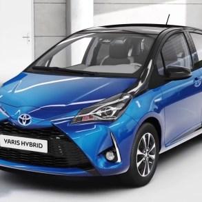 Τα 5 μικρά βενζινοκίνητα με την χαμηλότερη κατανάλωση 2018 toyota