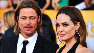 """""""Brangelina"""" - Angelina Jolie divorces Brad Pitt as predicted by Nostradamus."""
