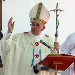 (©lapresse) Pope Bergoglio