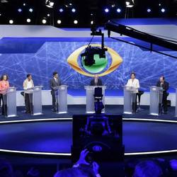 TV DEBATE among PRESIDENTIAL CANDIDATES in brazil