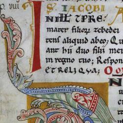 Un antico testo in latino