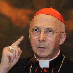 Il cardinale Angelo Bagnasco