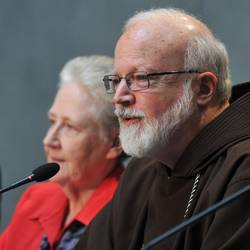 Cardinal O'Malley and Marie Collins