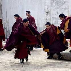 Nuoria buddlaismunkkeja