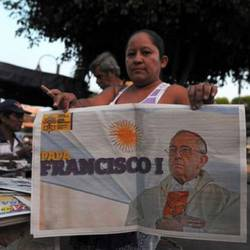 Argentinians show their pride for Francis