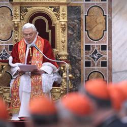 Benedict XVI's speech to the Curia