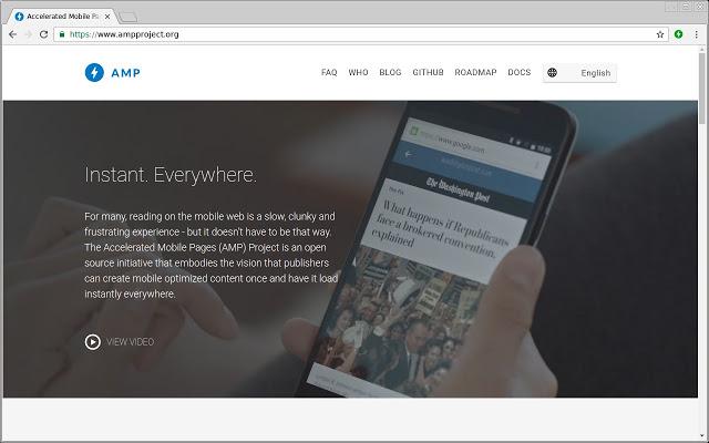 Validasi laman AMP WordPress Menggunakan Ekstensi Chrome