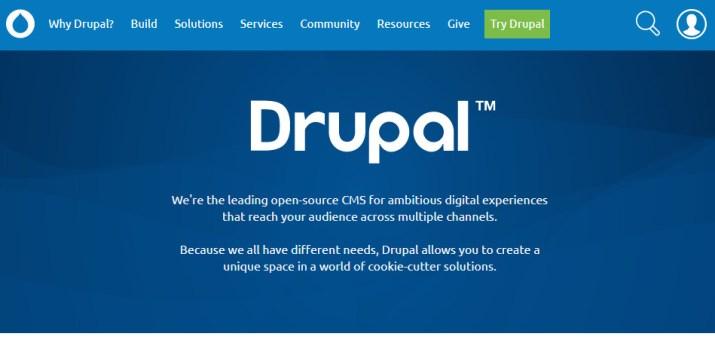 apa itu CMS Drupal