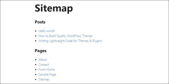 Cara membuat HTML sitemap 07