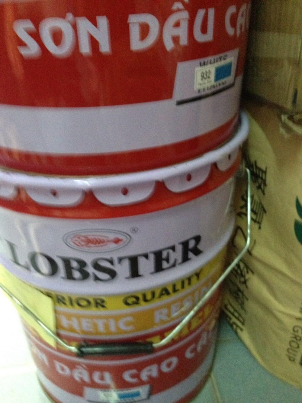 SƠn dầu Lobster màu xanh 932