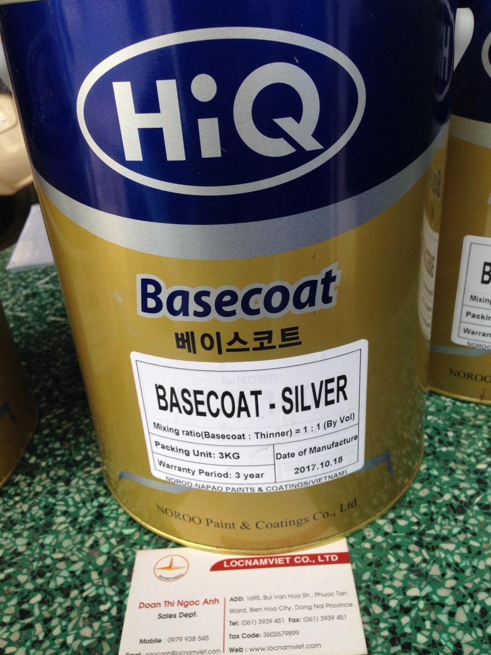 Sơn Hiq basecoat silver