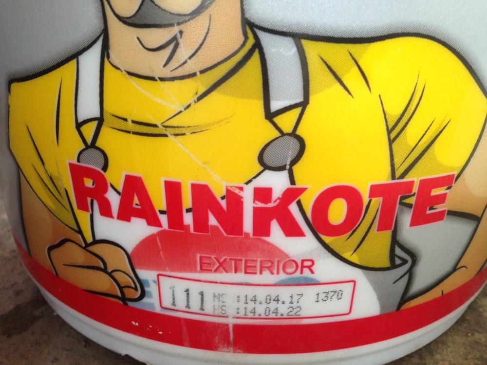 Sơn nước Ngoại thất màu trắng Expo Raincote Ngoài trời mã số 111- 17L
