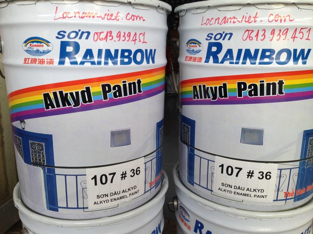 Sơn Dầu Rainbow 107#36-18L (2)