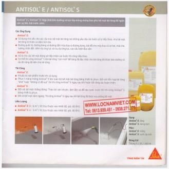 Sika-antisol e-antisol s