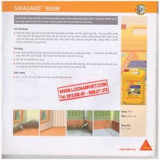 Sikagard 905w-25