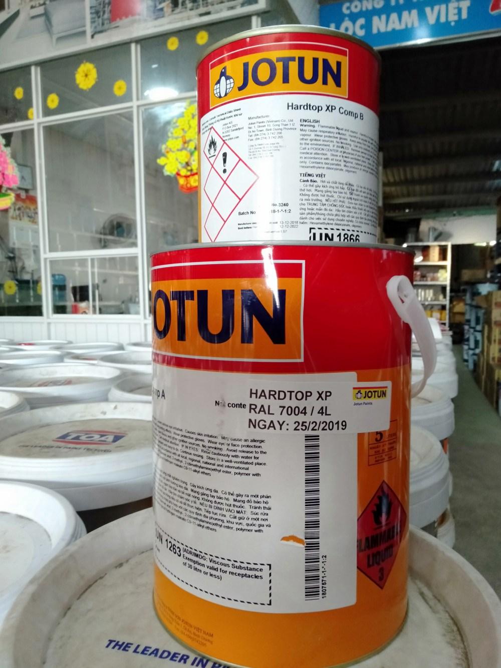 Sơn epoxy Jotun Hartop XP màu xám 7004