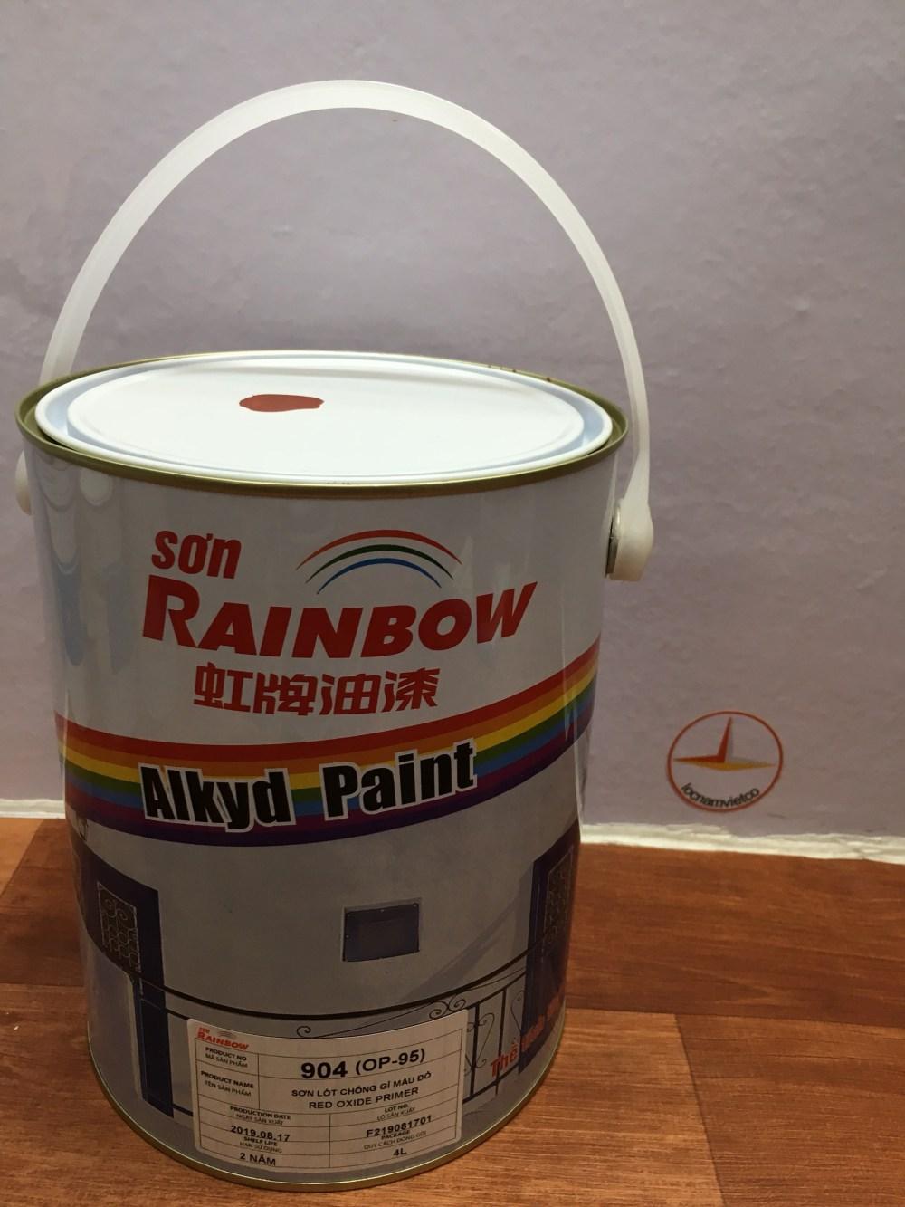 SON LOT CHONG RI MAU DO RAINBOW 904 -4L (4)