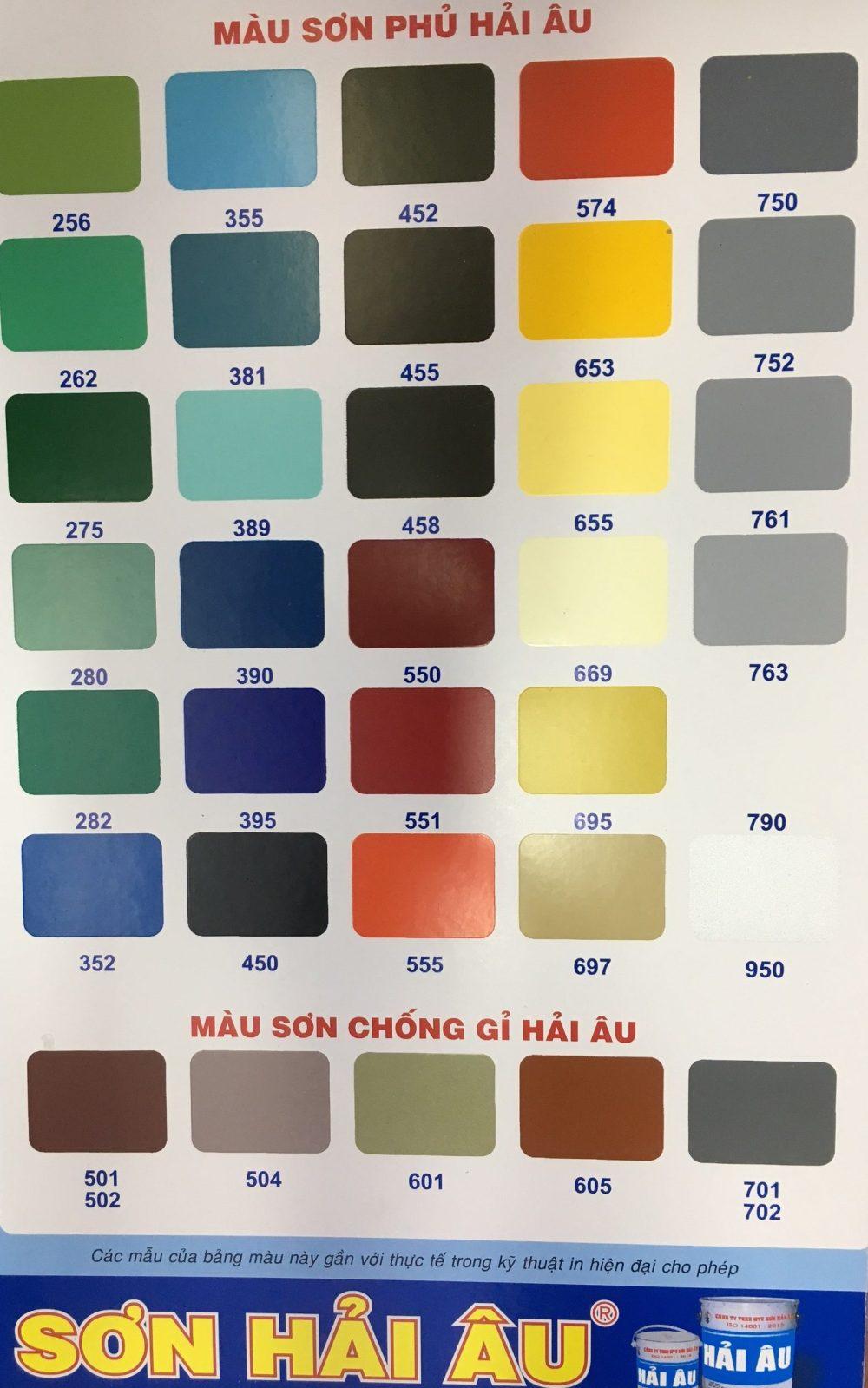 BANG MAU SON HAI AU - (36)