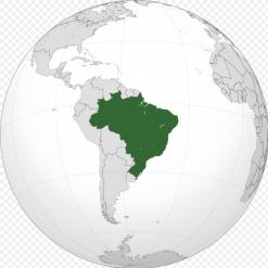 brasilía kort1