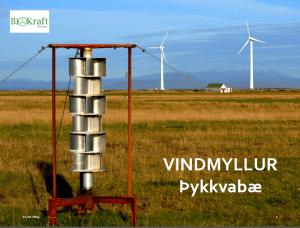 Vidmyllur Þykkvabæ