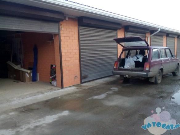 склад в гараж