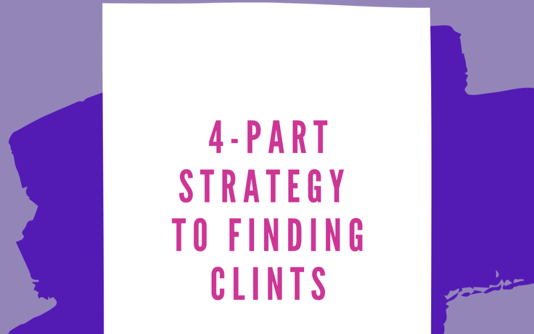4 Part Strategy-Finding Clients