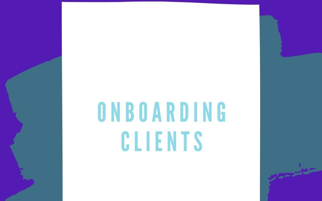Onboarding Clients