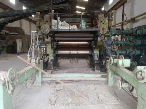 """Used Rubber Calender Machine 4 Roll Size 24"""" X 76"""""""