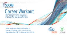 SEG Annual Meeting Career Workout for LinkedIn/Twitter