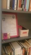 Lainausohjeet, -vihko, ja kortisto! Instructions and notebook for checkout and card catalogue!