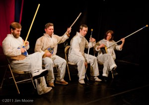 Cirque This Ensemble perform at Triskelion Arts