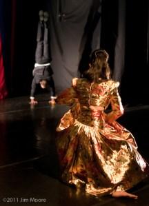 Vangeline and Jonathan Nosan perform at Triskelion Arts