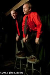 'tinydangerousfun' Variety show hosts John Leo and Andy Sapora