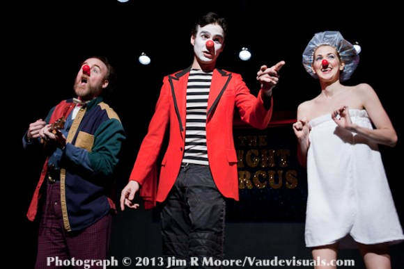 Richard Kent Green, Mr. And Missus Clown move the show along with song and merriment.