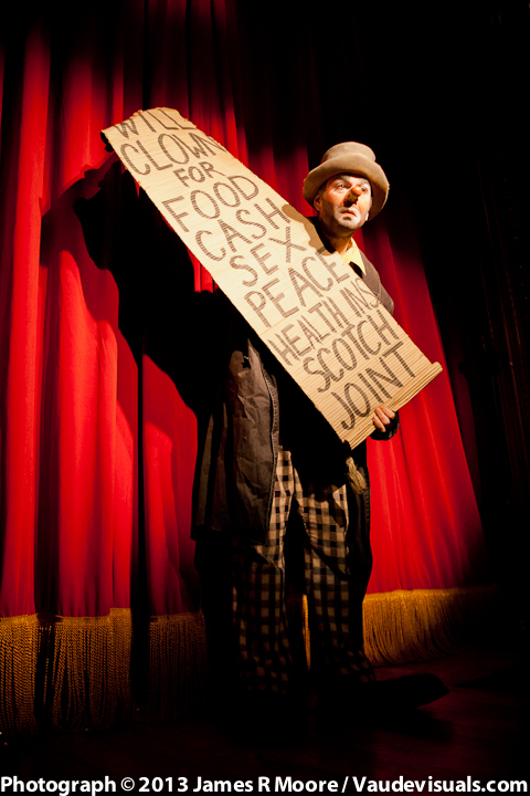 Kinko The Clown performs @ The Slipper Room