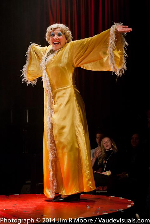 Mooky Cornish performing at La Soiree