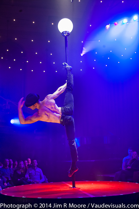Hamish McCann performing at La Soiree