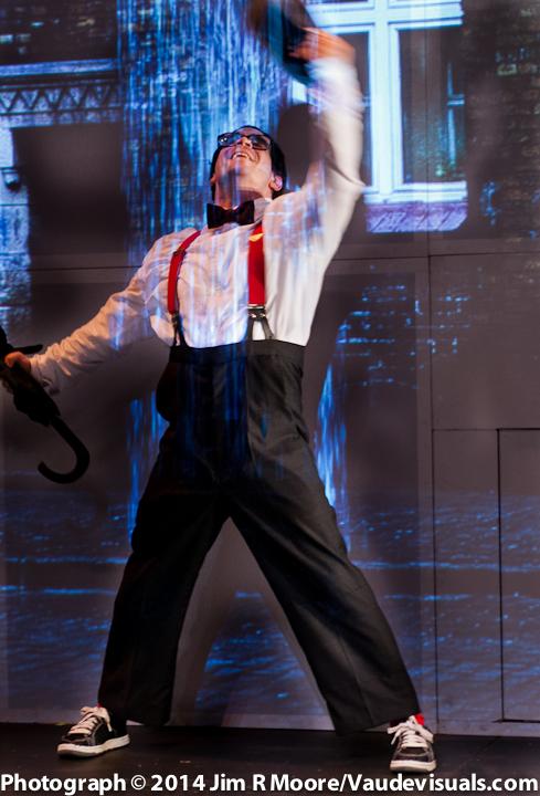 Mark Gindick performing in WINGMAN