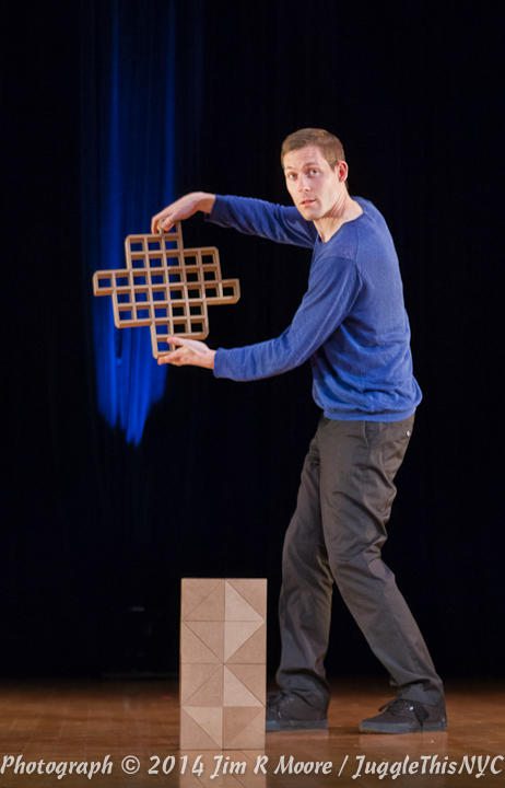 Erik Aberg from Stockholm, Swedan performing at Juggle This