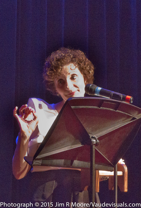 Virginia Louloudes at Dixon Place Donor Dinner