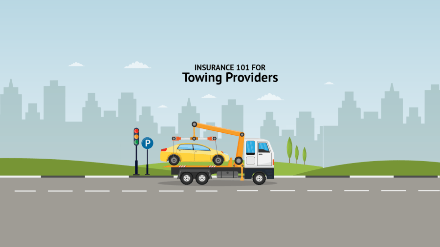 Insurance requirements for towing providers working with top roadside assistance networks, Agero, Waste Management, Urgently, Honk, Pinnacle Motor Club, and Urgently