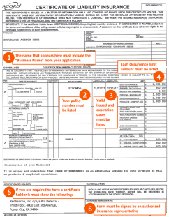 Home Depot Pro Referral Insurance Requirement