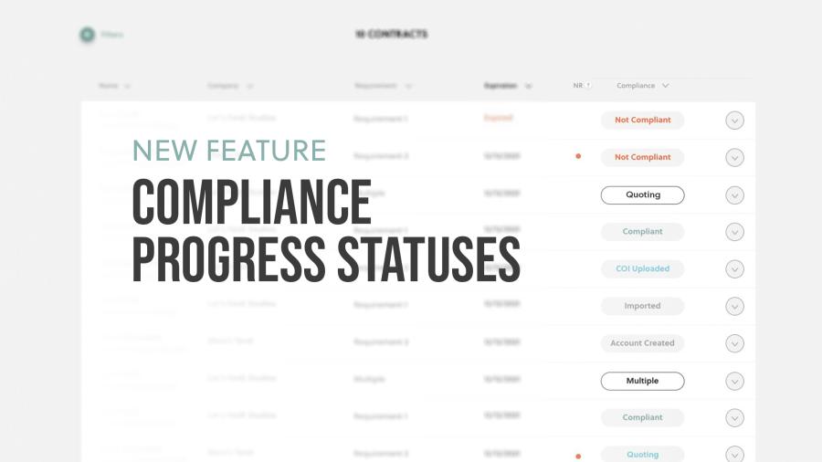 New Feature: New Progress Statuses
