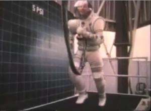 EVA suit test ca. 1967