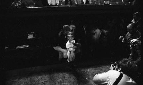 Boy in Senators Baseball Cap, September 30, 1971